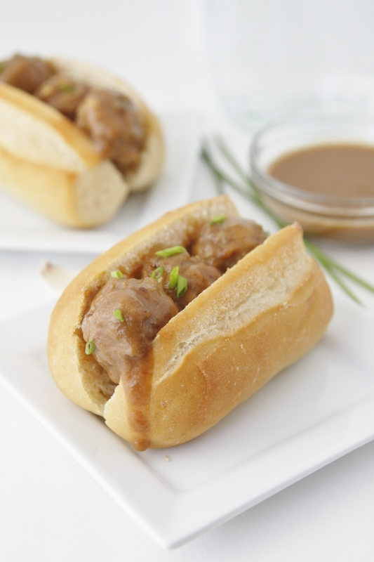 Sweet and Spicy Mini Meatball Subs - bell' alimento | bell ...
