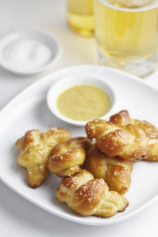 Mini Soft Pretzel Bites | bell' alimento