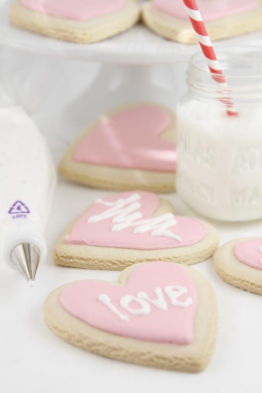 Conversation Heart Cookies | bell' alimento