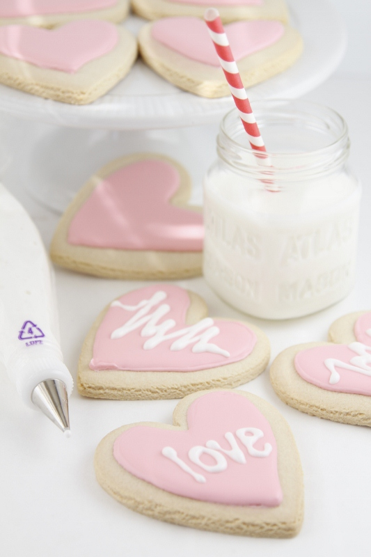 Conversation Heart Cookies | bell' alimento