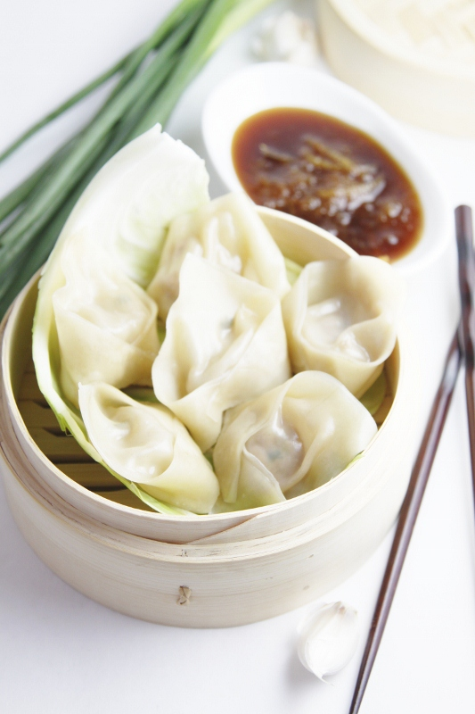 Ginger and Pork Dumplings | bell' alimento