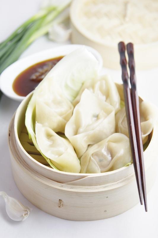 Ginger and Pork Dumplings - bell' alimento | bell' alimento