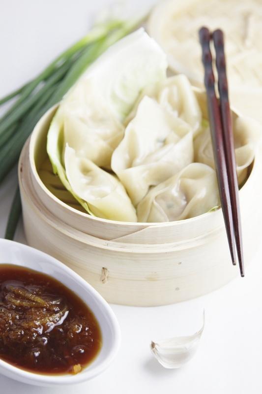 Ginger and Pork Dumplings | bell' alimento