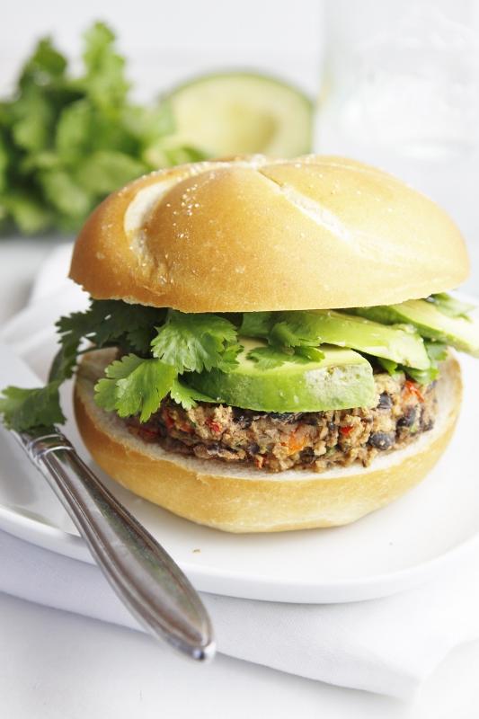 Black Bean Burgers Recipe — Dishmaps