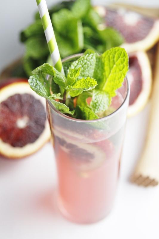 Blood Orange Vodka Cocktail | bell' alimento