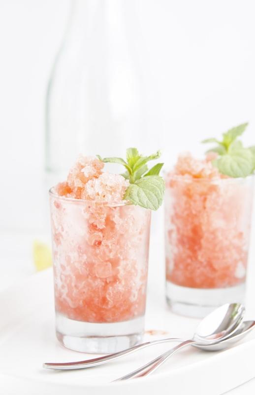 Boozy Berry Granitas