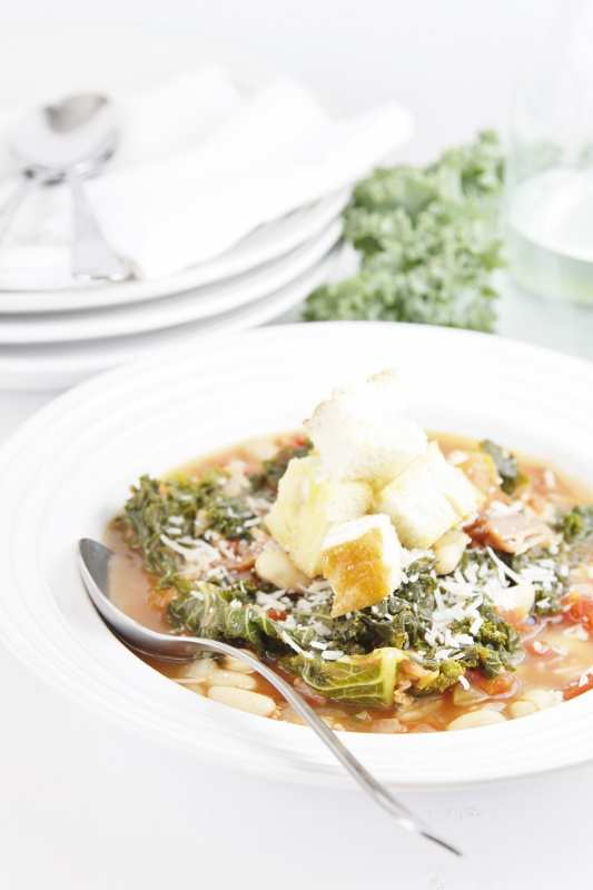 Rustic Tuscan Soup