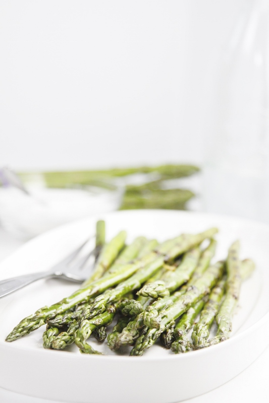 Caramelized Grilled Asparagus