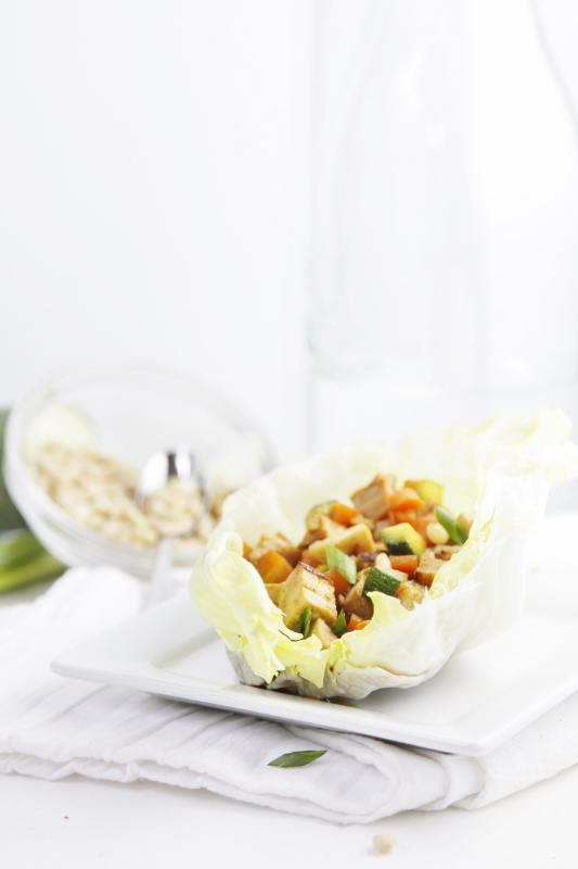 Chicken Lettuce Wraps #recipe