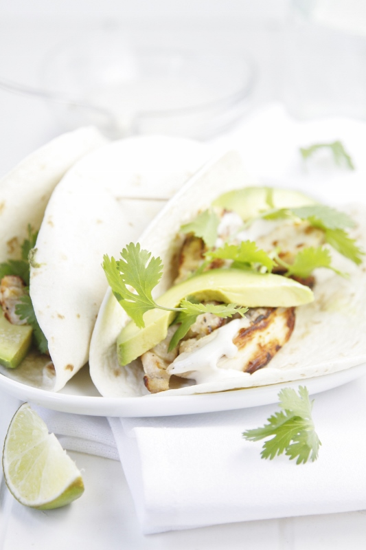 Chicken Tacos with Jalapeno Ranch Sauce #recipe