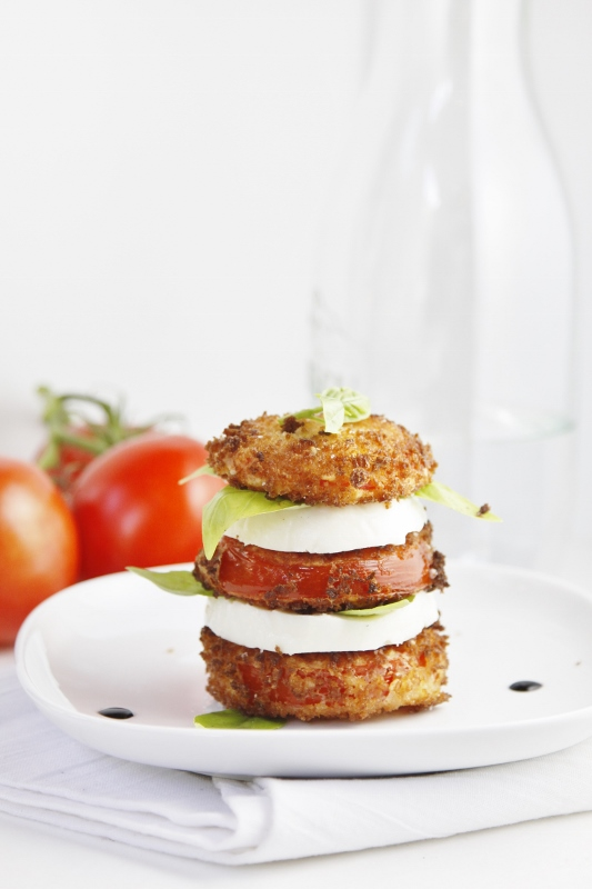 Fried Caprese Salad #recipe