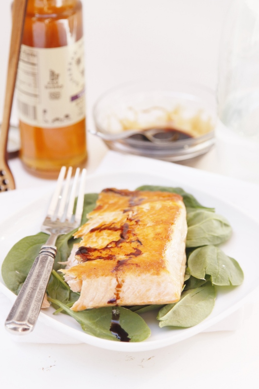 Pan Seared Copper River Salmon