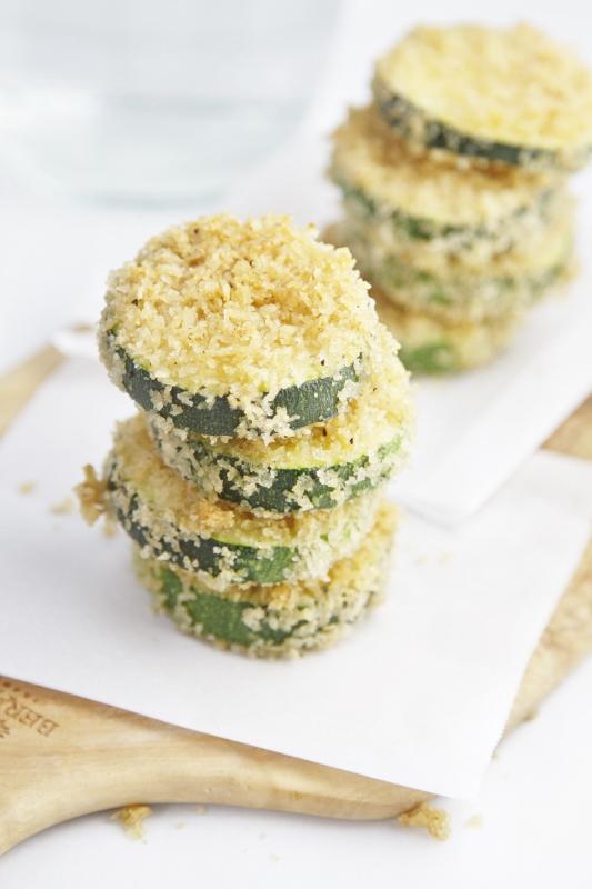 Baked Zucchini Stacks | www.bellalimento.com