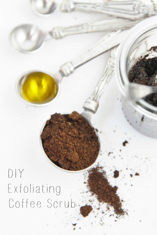 DIY Exfoliating Coffee Scrub