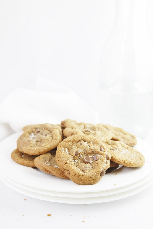 Brown Butter Chocolate Chip Cookies - bell' alimento