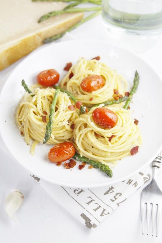 tomato and asparagus the tomato and asparagus asparagus carbonara the ...