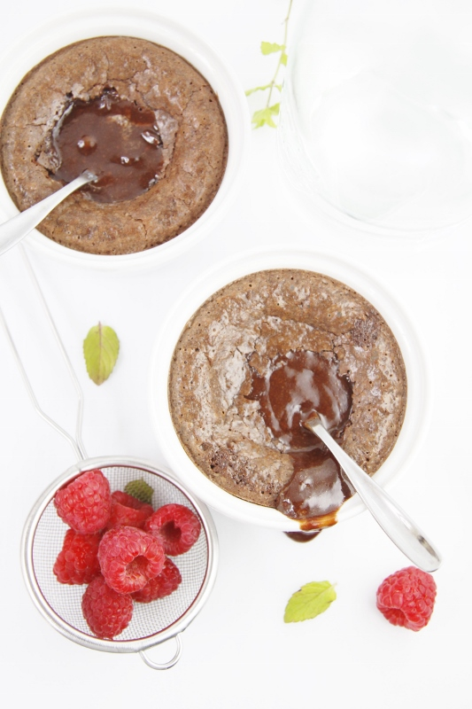 Warm Chocolate Nutella Melting Cake | www.bellalimento.com