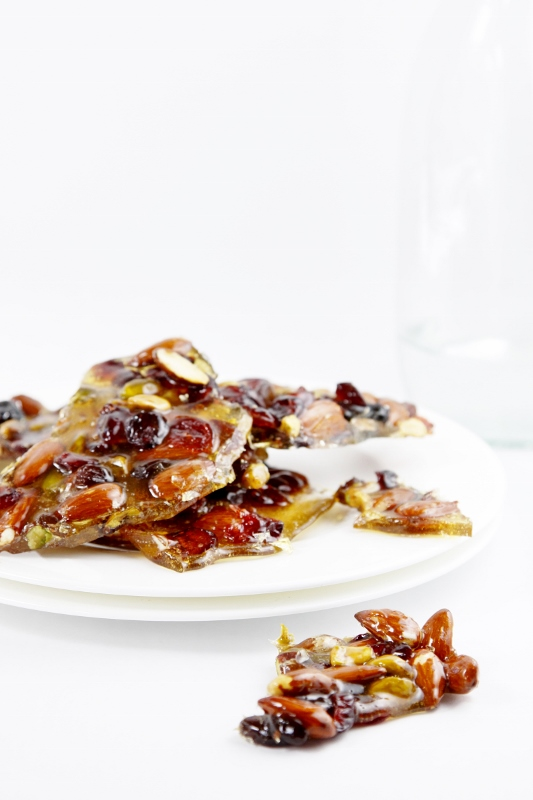 Fruit and Nut Brittle www.bellalimento.com