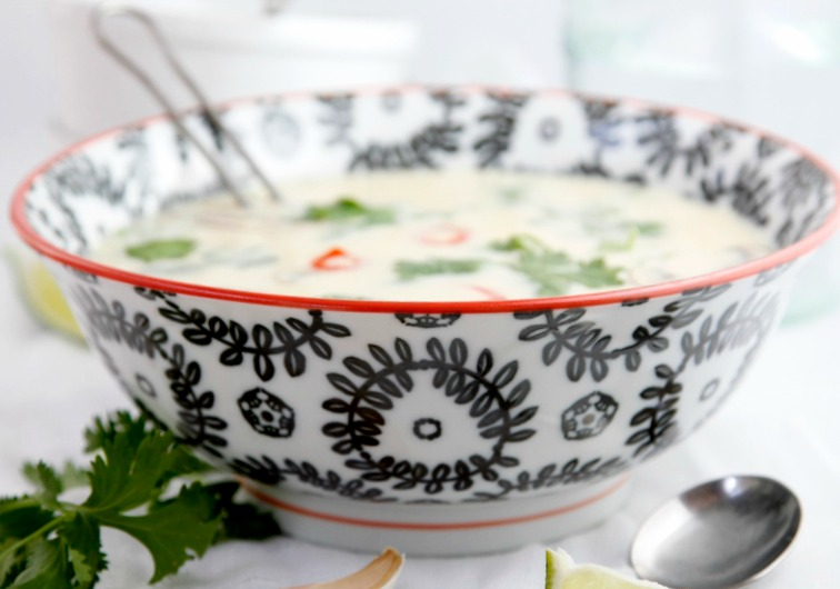 10 Minute Thai Coconut Soup