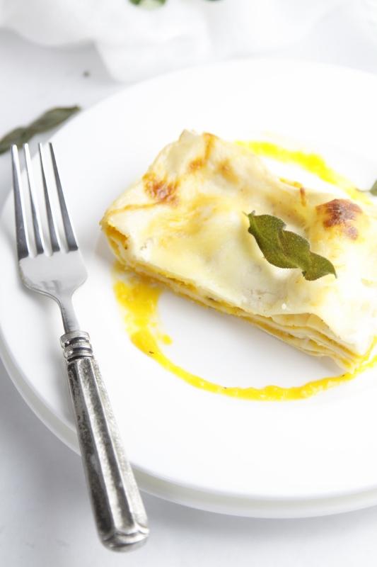 Roasted Squash Lasagna www.bellalimento.com