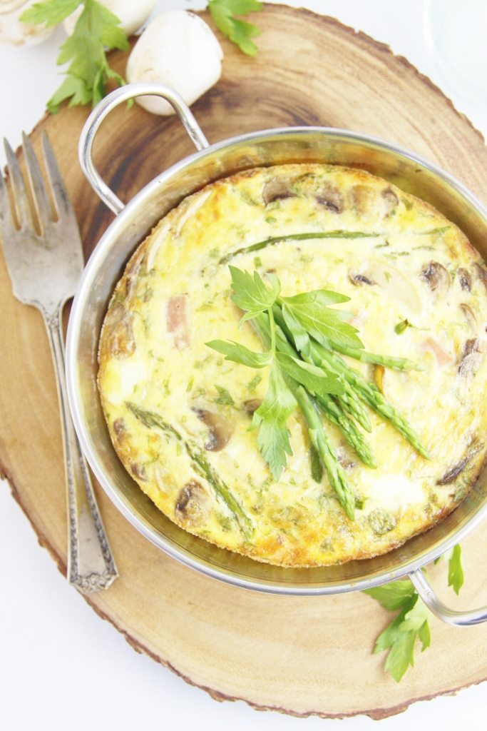 and ham my favorites are chorizo ham ham and asparagus frittata ...