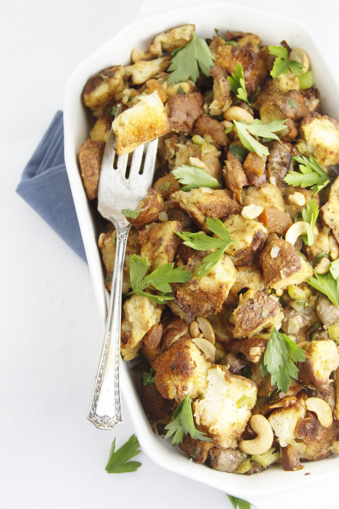 Sausage and Sweet Bread Stuffing | bell' alimento