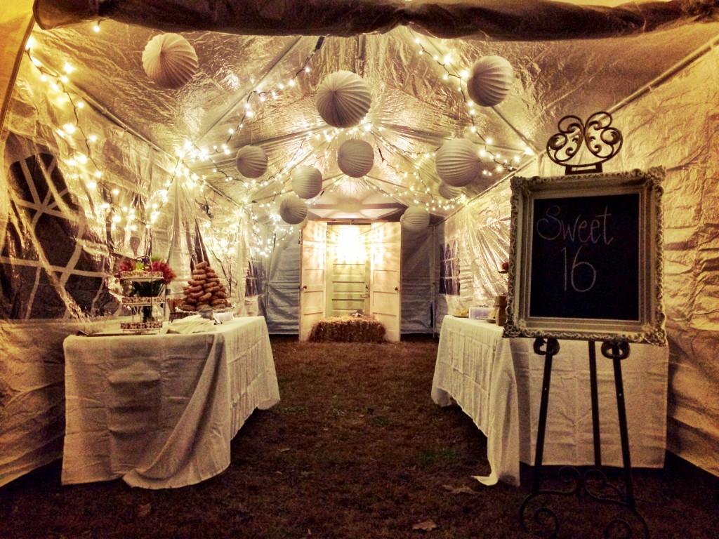 Sweet 16 party www.bellalimento.com