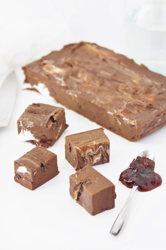 Black Forest Fudge www.bellalimento.com