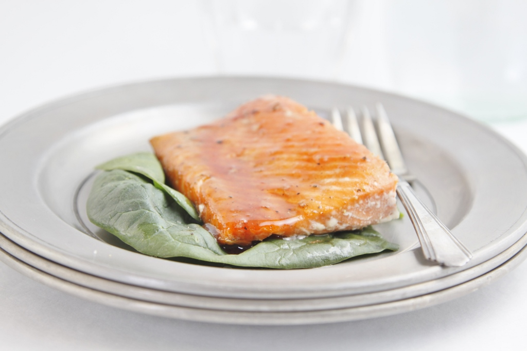 Brown Sugar Citrus Glazed Salmon www.bellalimento.com