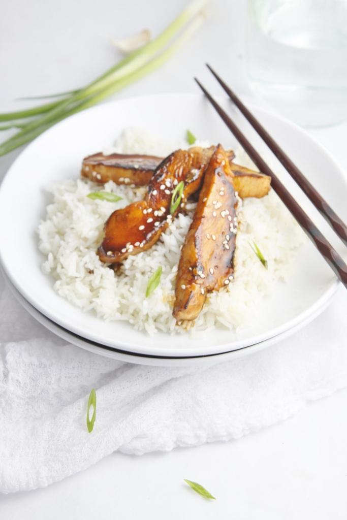 Chicken Teriyaki Bowl www.bellalimento.com