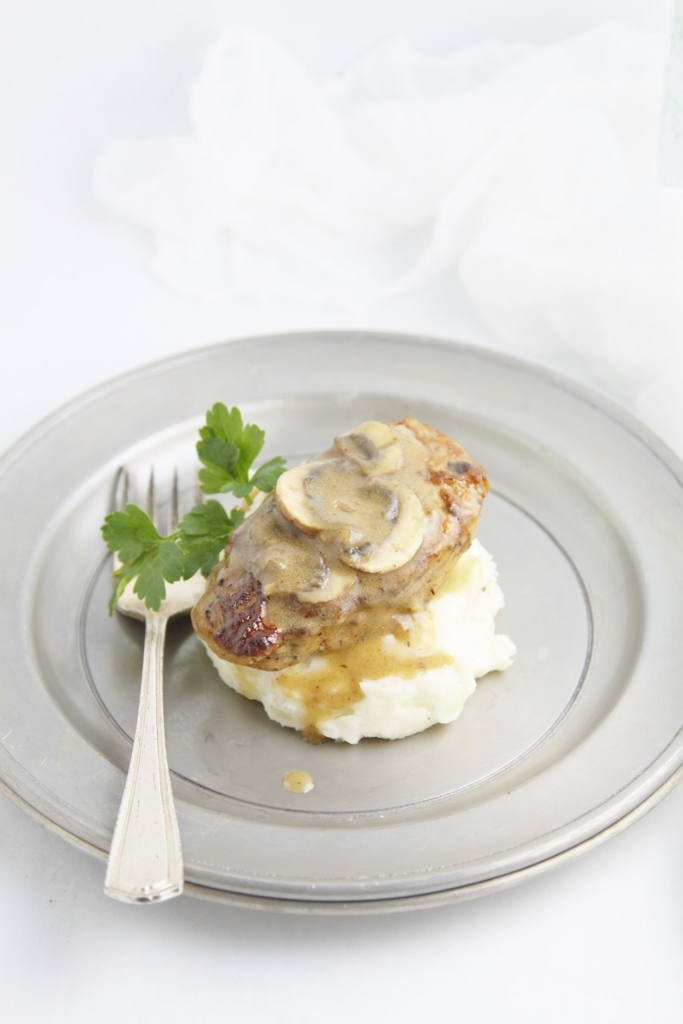 Pork Medallions with Mushroom Marsala Sauce | bell' alimento
