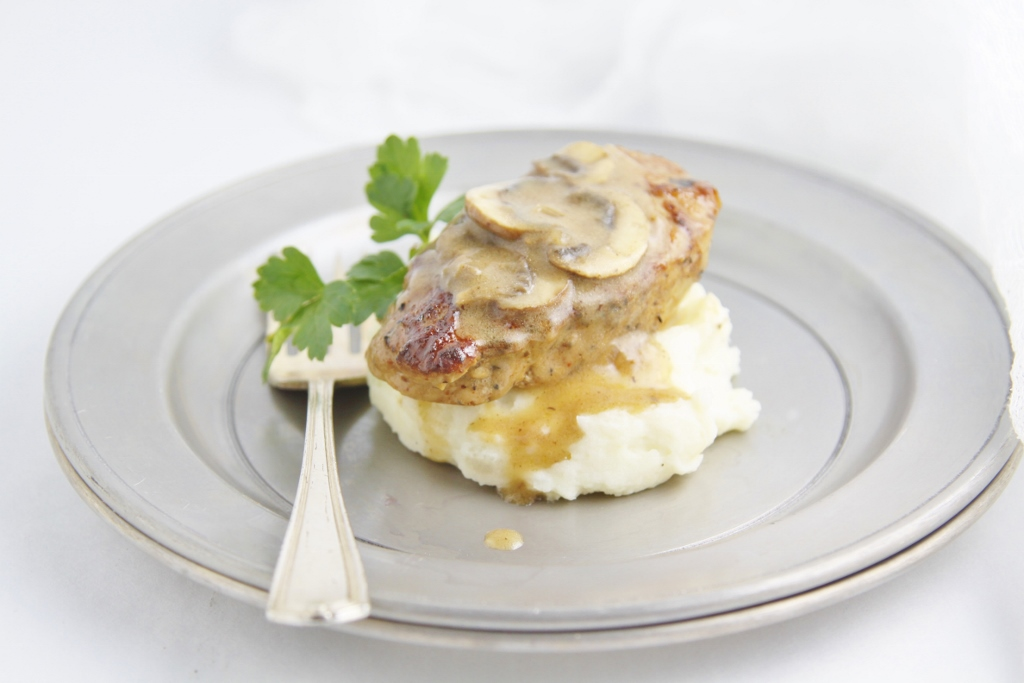 Pork Medallions with Mushroom Marsala Sauce - bell ...