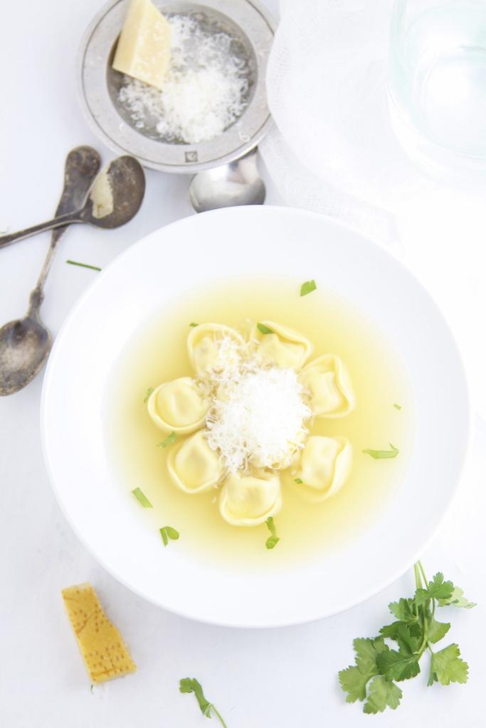 Tortellini in Brodo www.bellalimento.com
