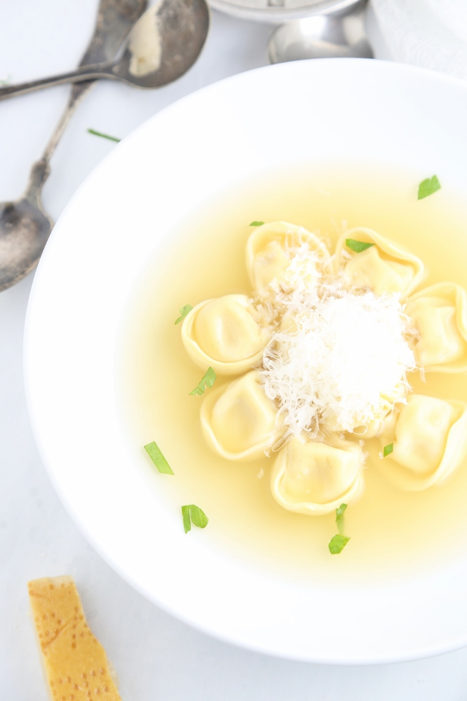 tortellini in brodo means tortellini in broth or as my kids call it ...