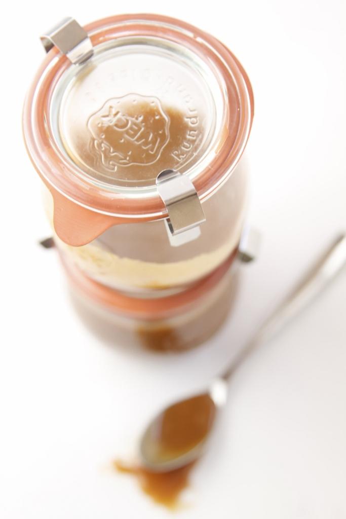 Coffee Caramel Sauce www.bellalimento.com