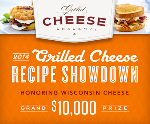 Grilled Cheese Recipe Showdown Info Graphic
