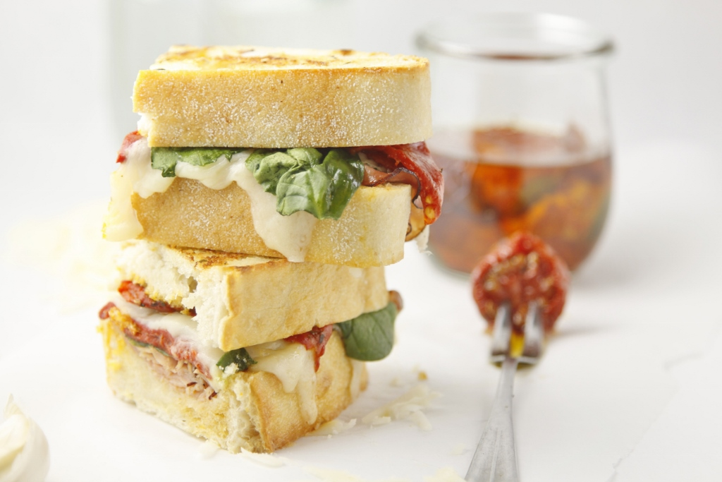Ultimate Italian Grilled Cheese www.bellalimento.com