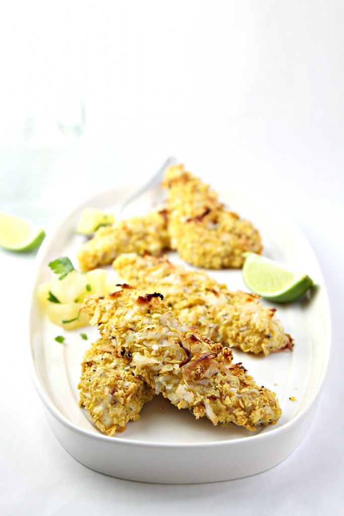 Coconut Crusted Chicken www.bellalimento.com