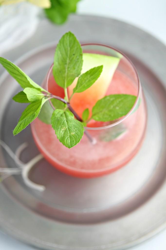 Honeysuckle Watermelon Cooler