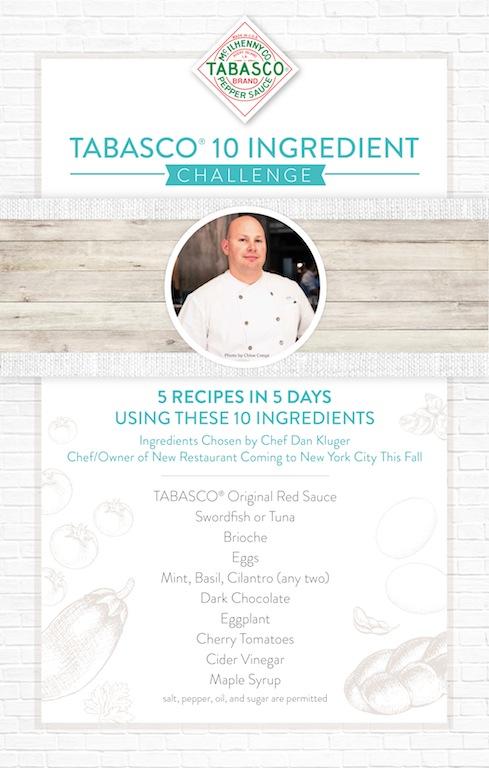 Tabasco Challenge