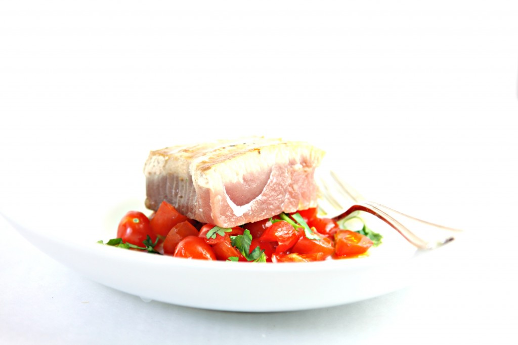 Spicy Grilled Tuna Steak