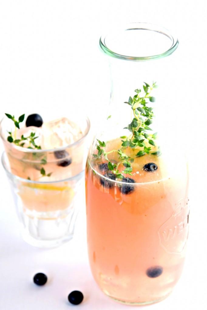 Blueberry Thyme Lemonade
