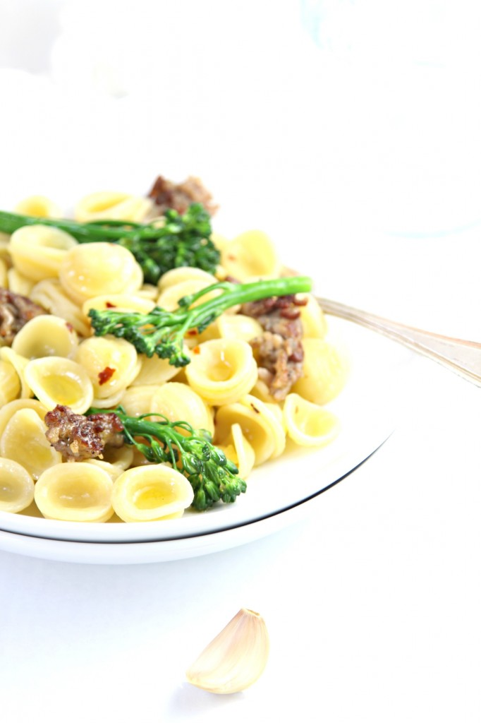 Orecchiette with Italian Sausage and Broccoli