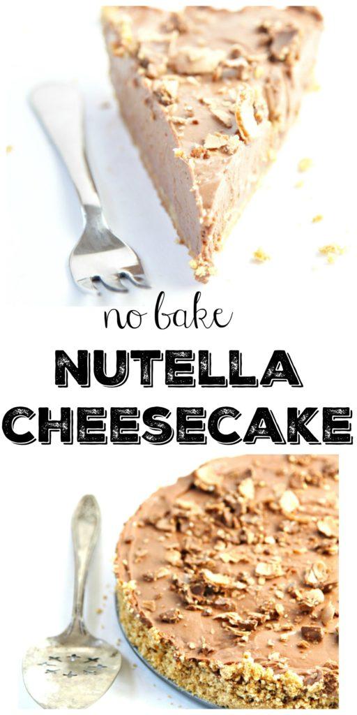 No Bake Nutella Cheesecake Bell Alimento