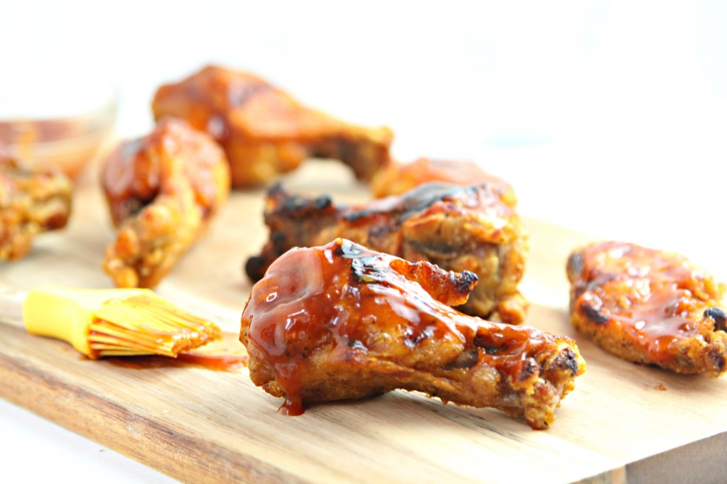 Honey Bourbon Grilled Chicken