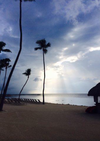 beach view from cheeca lodge