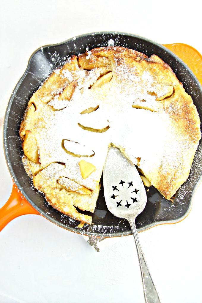 Apple Cinnamon Dutch Baby