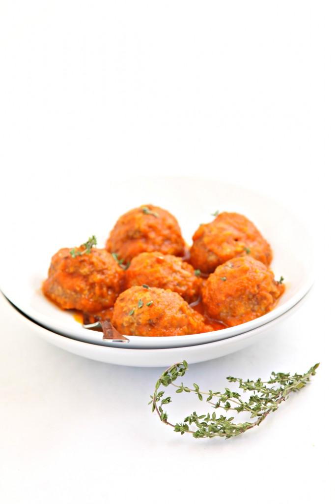 Crock-Pot Slow Cooker Italian Meatballs