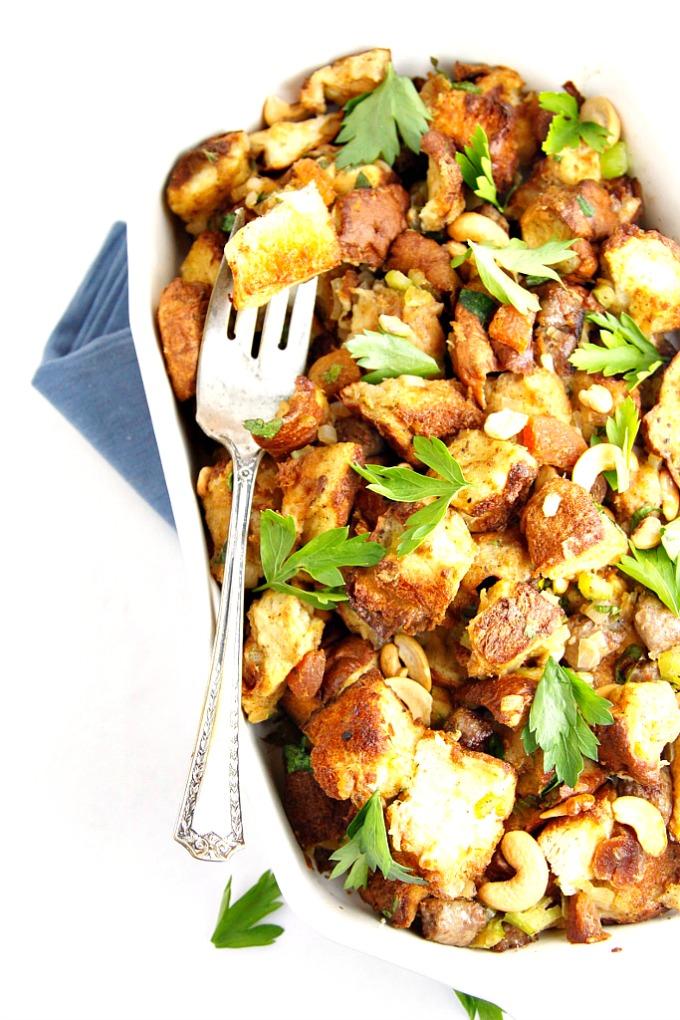 Italian Sausage And Bread Stuffing Recipe — Dishmaps