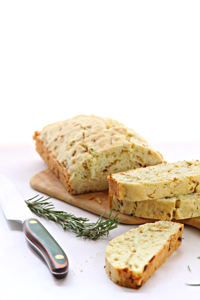 Caramelized Onion and Rosemary Quick Bread